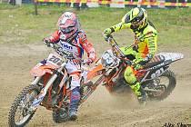 Mistrovství Evropy v motokrosu třídy OPEN v Polsku.