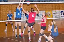 Svitavské juniorky v zápase proti Brnu.