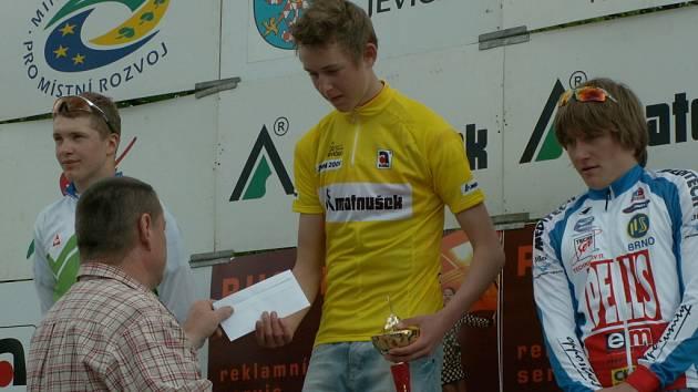Loňský vítěz Závodu míru nejmladších. Jesper Kousgaard.