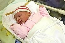 SOFIE KLEJCHOVÁ je dcerka Moniky Matouškové a Jana Klejcha ze Sebranic. Narodila se 3. března ve 22.20 hodin. Vážila 2,7 kilogramu a měřila 48 centimetrů.