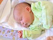 BEATA WEISSOVÁ. Narodila se 16. dubna Zdeňce Jakubcové a Romanu Weissovi. Měřila 50 centimetrů a vážila 3,3 kilogramu.