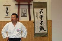 Vedení semináře aikida se ujal sensei Kunimasa Matsuba, držitel 6. danu aikido a 5. danu kenjutsu.