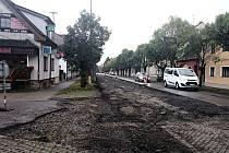 Rekonstrukce silnic Pražská a Sokolovská bude pokračovat i v příštím roce