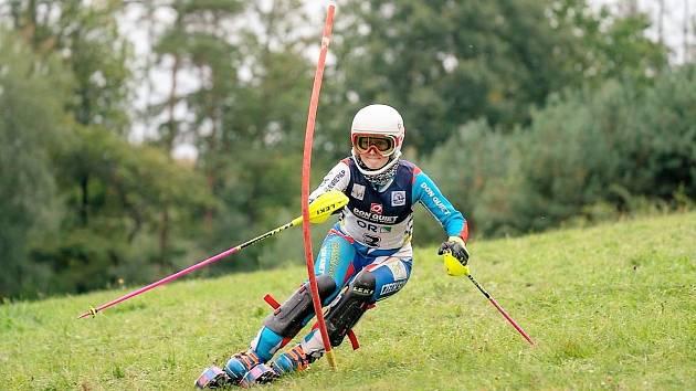 Byla to sezona bez mezinárodních startů, travní lyžaři včetně Šárky Abrahamové bojovali jen na domácích svazích.