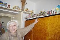 Betlémy vystavují v obýváku