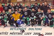 Hokejový tým Betlémští Doltoni.
