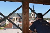 Dny otevřených památek v Litomyšli. Z Červené věže
