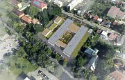 Vizualizace nové nemocnice následné péče v Moravské Třebové