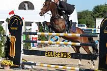 Na parkurový sport v podání špičkových českých koní a jezdců bývá na kolbišti na Suché vždy krásný pohled.