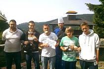 JAROSLAV NĚMEC se o víkendu pořádně najedl, zúčastnil se tří soutěží v pojídání.