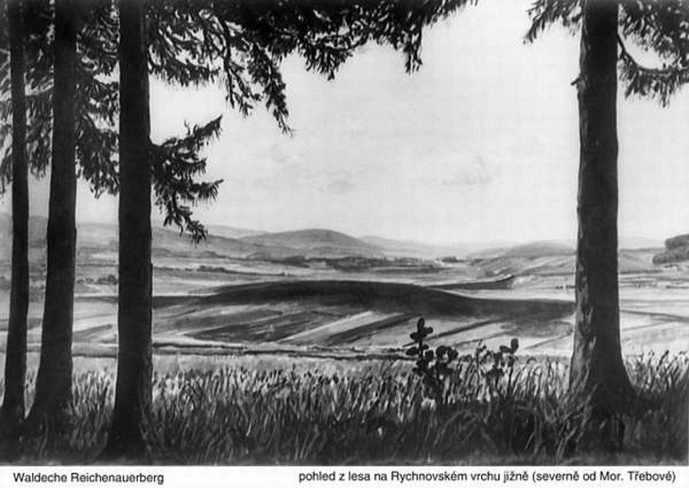 Po Hitlerově dálnici zbyly v krajině stavby, Němci silnici nikdy nedokončili.