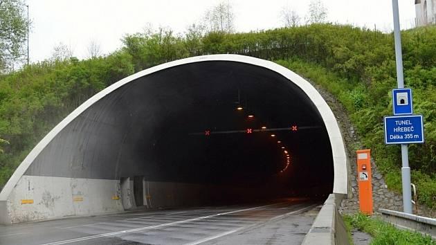 Hřebečský tunel na I/35.