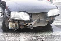 Na křižovatce mezi Svitavami a Opatovcem se ve středu 25. února kolem půl jedenácté dopoledne srazila dvě osobní vozidla.