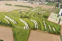 V NOVÉM PARKU by měly být stovky stromů. Jeho vybudování má vyjít na deset milionů korun.
