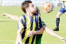 Svitavská pohárová cesta skončila porážkou v Lanškrouně. Na snímku je v souboji s protihráčem Filip Čížek.