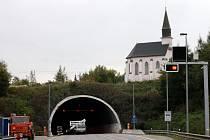Hřebečský tunel je uzavřen.