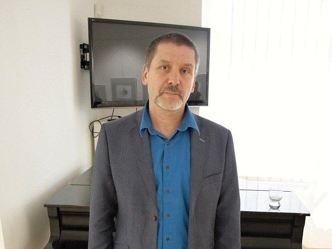 Spisovatel, ilustrátor a grafik Martin Sodomka ze Svitav