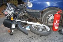 Nehoda v Budislavi