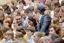 Stejně jako v loňském roce se mohou těšit diváci na koncert, při které budou moci využít svoje mobilní telefony. Na  festival s ním přijede Janáčkova filharmonie.