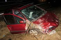 Nehoda na Spáleništi si ve středu 20. února vyžádala dvě zranění.