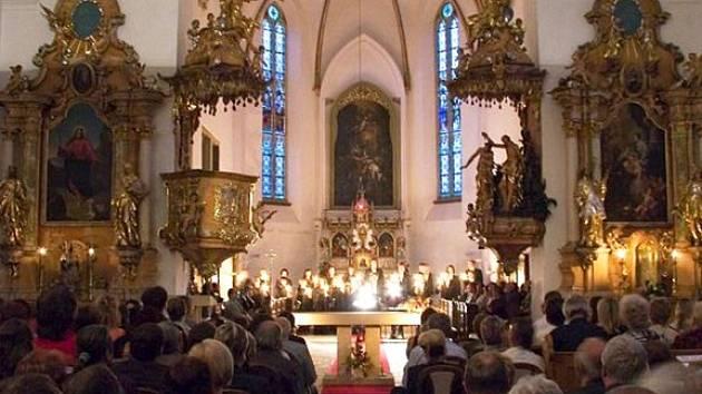 Nedělní festivalový koncert se konal v Lanškrouně.