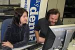 Hostem on-line rozhovoru byl ve čtvrtek 20. listopadu od 10 hodin Leoš Šimánek.