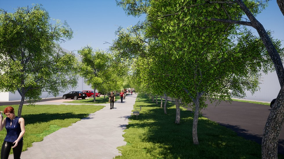 Zelené cesty propojí centrum města s okolní krajinou