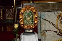 Relikviář sv. Valentina.
