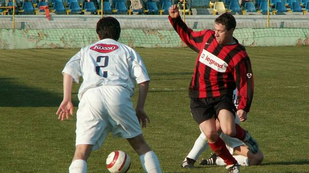 Momentka z utkání Moravská Třebová Moravany