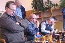 Krajský šachový přebor II. třídy v Litomyšli.