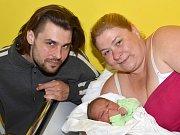 MARTIN EXLER. Narodil se 4. dubna Zuzaně a Martinovi z Borušova. Měřil 51 centimetrů a vážil 4,1 kilogramu. Má sourozence Erika a Zuzanku.