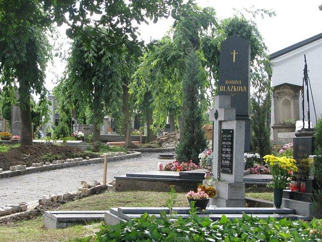 Oprava hřbitova v Poličce, přibudou nové lampy