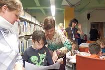 Den se spisovatelkou ve svitavské knihovně.