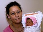 ANNA POSPÍŠILOVÁ. Narodila se 17. dubna Anně a Martinovi z Rychnova na Moravě. Měřila 46 centimetrů a vážila 2,45 kilogramu.