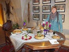 Návštěvníci hradu Svojanov zažili o víkendu pocit, jako kdyby se tu život zastavil o Vánocích  někdy v devatenáctém století.