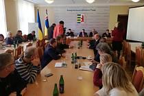 Setkání představitelů Pardubického kraje a Zakarpatské Ukrajiny