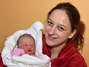 DARINA HÁRYCHOVÁ. Narodila se 11. prosince Darině Hárychové a Zdeňku Rekovi ze Svitav. Měřila 49 centimetrů a vážila 3,58 kilogramu. Má bráchu Zdeňka.
