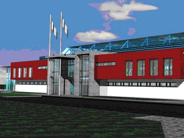Vizualizace: ZIMNÍ STADION čeká generální obnova.  Moravskotřebovští usilují o evropské peníze na dokončení areálu.