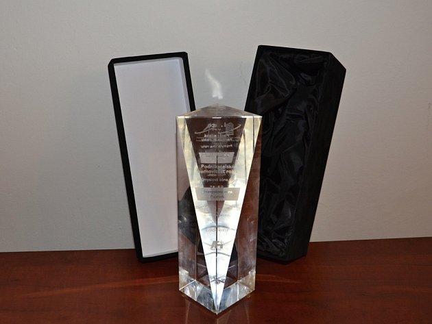 Město Svitavy získalo ocenění Průmyslová zóna roku 2015.