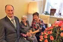 Nejstarší občance Žamberka je 101 let.