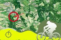 BIKEPARK by měl podle projektu vzniknout v okolí rozhledny Pastýřka. Město nově uvažuje i o variantě na Křížovém vrchu.