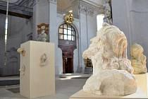Duchovní rámec expozice Andělé na návrší přináší další uměleckou hodnotu rekonstruovanému chrámu.
