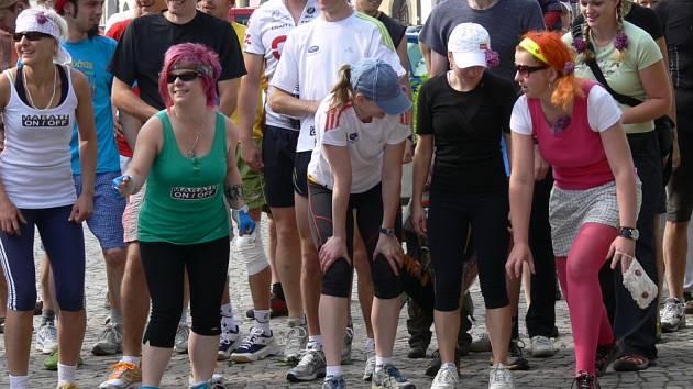 Tradiční běh Marathon/off v Litomyšli.