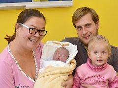 ŠTĚPÁN DRAŽKOVIČ. Narodil se 2. listopadu Kateřině a Pavlovi z Litomyšle. Měřil 52 centimetrů a vážil 4,2 kilogramu. Má sestru Toničku.