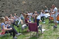 Smiling String Orchestra na Svojanově