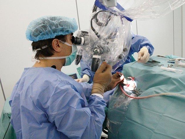 ODBORNÍCI operovali ve svitavském nemocnici v přímém přenosu. Svým kolegům z oboru otorhinolaryngologie předávali zkušenosti, jak řešit problémy při léčení zánětu středního ucha.