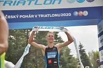 Odměna za tvrdou práci v tréninku byla sladká. Jakub Marek se stal v Příbrami mistrem republiky v olympijském triatlonu.