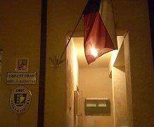 Volební místnost ve Vísce u Jevíčka zela prázdnotou, voliči ale nakonec přišli