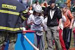 O putovní Pohár Malé Hané se utkali mladí hasiči v Jevíčku.
