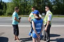 Dopravně preventivní akce na Svitavsku.